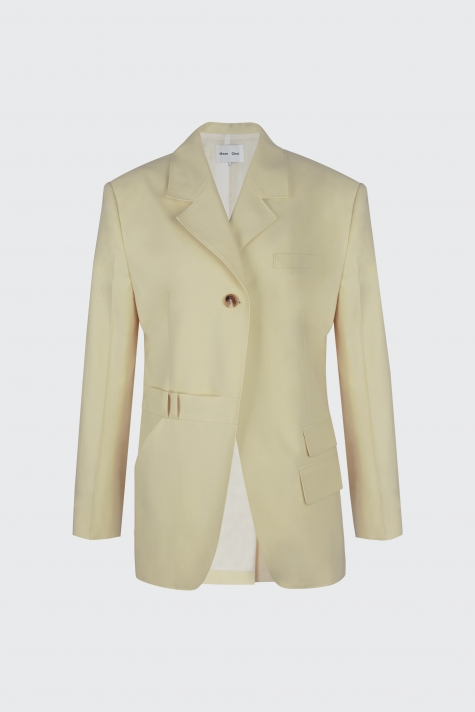 [60% OFF] Lemon oversized trousers blazer